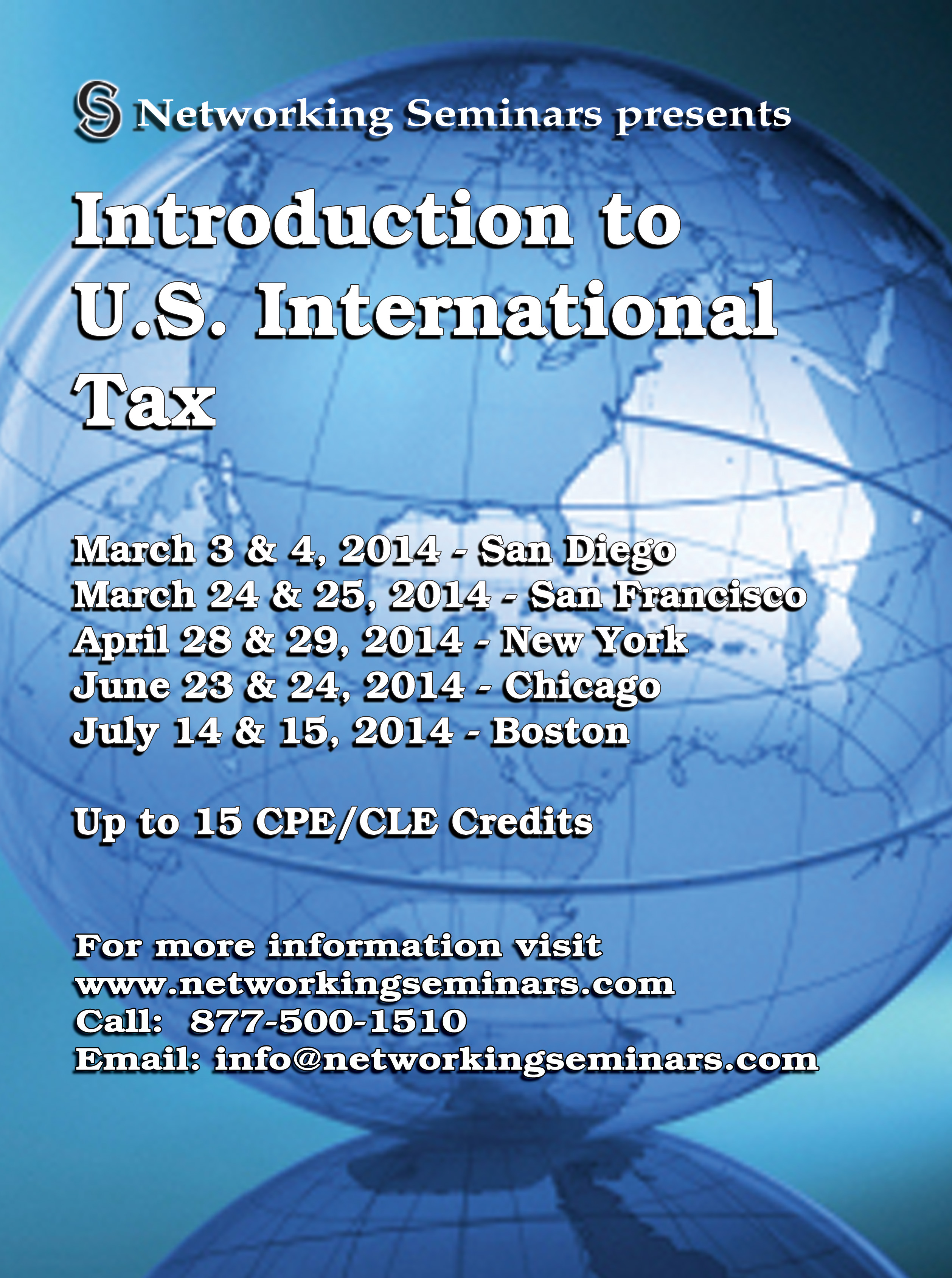 Introduction to U.S International Tax Seminar